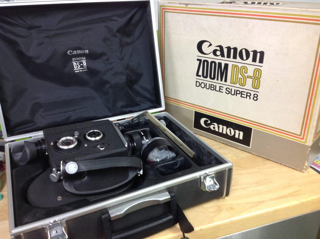 Canonキャノン ダブルランスーパー8カメラ ZOOM DS-8